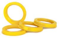 Центровочные кольца 72,6 x 54,1 (Vector HCR726-541) - Термостойкий поликарбонат 280°C, комплект (4 шт.)