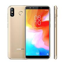 """Смартфон Homtom H10 gold золото (2SIM) 5,85"""" 4/64ГБ 8/16Мп 3G 4G оригинал Гарантия!"""