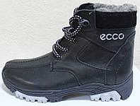 Ботинки зимние подростковые на шнурках от производителя модель ДИ101, фото 1