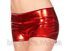 Шорты Wetlook  для фитнеса  женские, один размер SL  Красный