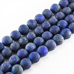 Бусины Monisto Натуральный Лазурит 12мм Цвет: Синий около 16шт/нить