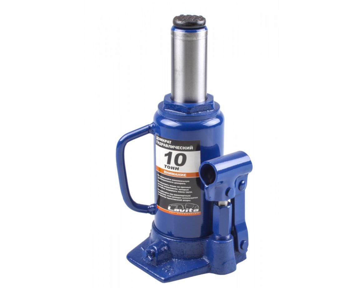 Домкрат гідравлічний 10Т. 200-385 мм LAVITA LA JNS-10