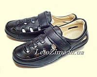 Туфли кожаные для мальчиков р.37