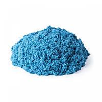 Песок для детского творчества - KINETIC SAND МИНИ КРЕПОСТЬ (голубой,141 г)