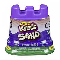 Песок для детского творчества - KINETIC SAND МИНИ КРЕПОСТЬ (зеленый,141 г)