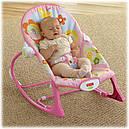 Детский шезлонг качалка Розовый кролик Fisher Price Bunny, фото 5