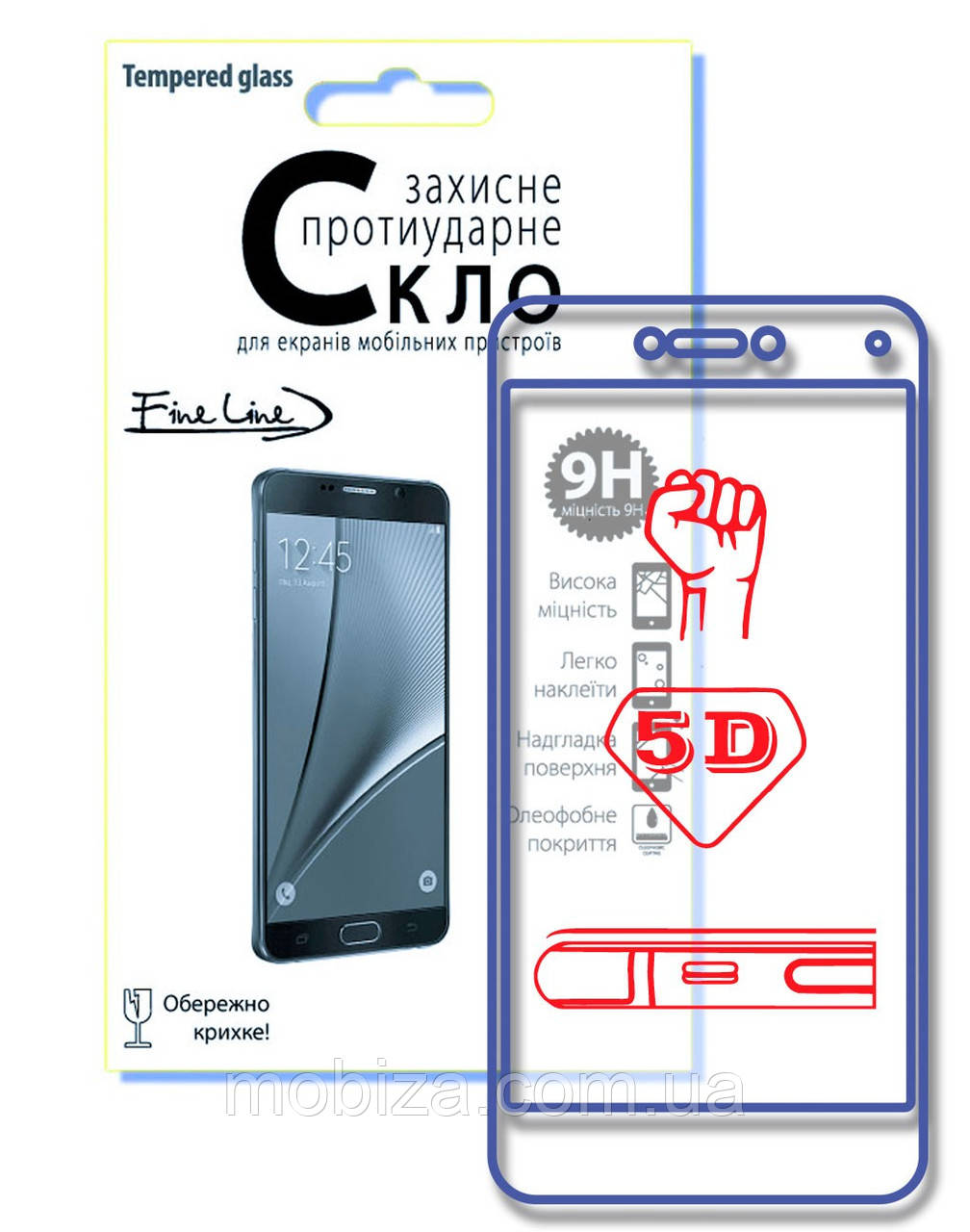 Захисне скло Fine Line 5D для iPhone 11 Pro Max (black)