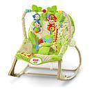 Детское кресло качалка Фишер прайс Тропические друзья Rainforest Friends, фото 2