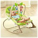 Детское кресло качалка Фишер прайс Тропические друзья Rainforest Friends, фото 3