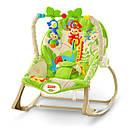 Детское кресло качалка Фишер прайс Тропические друзья Rainforest Friends, фото 7