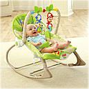 Детское кресло качалка Фишер прайс Тропические друзья Rainforest Friends, фото 8