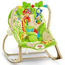 Детское кресло качалка Фишер прайс Тропические друзья Rainforest Friends, фото 10