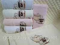 "Комплект полотенец Merzyka ""Coffe Towel"" - махра - хлопок 6шт.: 30х50 Турция  pr-47"