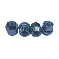Гайки колесные M12x1,25x21; Цинк, Конус, ключ 17 (открытые), Vianor VR1155 BP16 - шт.