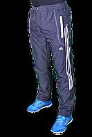 Зимние спортивные брюки на флисе Adidas. (1577-3)