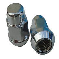 Гайки колесные M14x1,5x35; Хром, Конус, ключ 19 (закрытые), Vianor VR2009 BP20 - шт.
