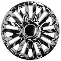Колпаки на колеса R13 хромированные, WinJet (WJ-5063-C-13) - комплект (4 шт.)