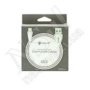 Кабель USB-Lightning CELEBRAT CB-01i 1м белый