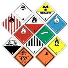 Маркировочные обозначения и знаки опасности