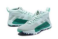 Мужские Баскетбольные кроссовки  Adidas Dame 5  ( Damian Lillard) (Green), фото 1