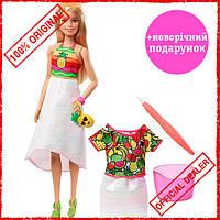 """Игровой набор Barbie """"Фруктовый сюрприз"""" GBK18"""