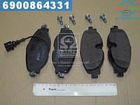 ⭐⭐⭐⭐⭐ Колодки тормозные ШКОДА OCTAVIA 2012-,VW GOLF VII 2012-,AUDI A3 передние (производство  REMSA) СИАТ,ФОЛЬКСВАГЕН,ГОЛЬФ  7,ЛЕОН, 1515.01