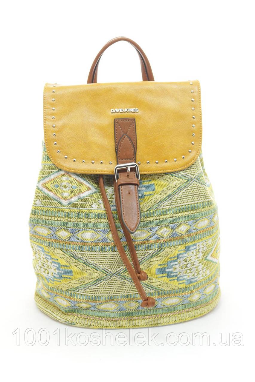 Рюкзак David Jones 6164-4 Yellow