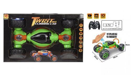 """Машинка-трансформер """"Twist 4 x 4"""" (салатовая) 1825-6"""