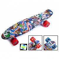 Скейт Пенни борд Penny Board Ultra Led 22