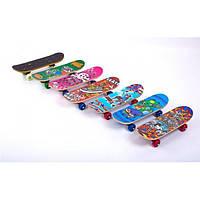 Скейтборд Mini в сборе (роликовая доска) SD-1 (р-р деки 43х13х1,2см)