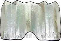 Шторка солнцезащитная 150 x 80 см - зеркальная, HG-002S150 (Дорожная карта), упаковка (1 шт.)