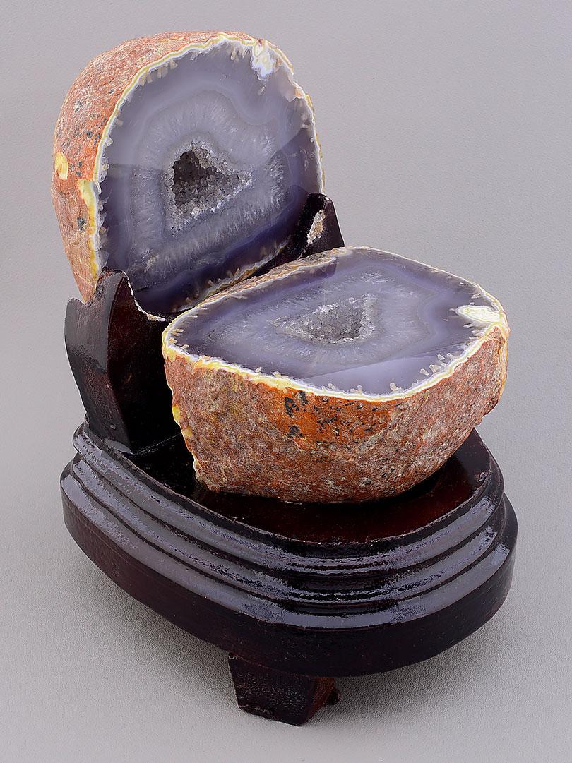 Коллекционные камни и мениралы образец Агат 120x100x85 1423 г