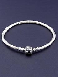 Браслет 'Pandora style'  Серебро(925) 19 см.