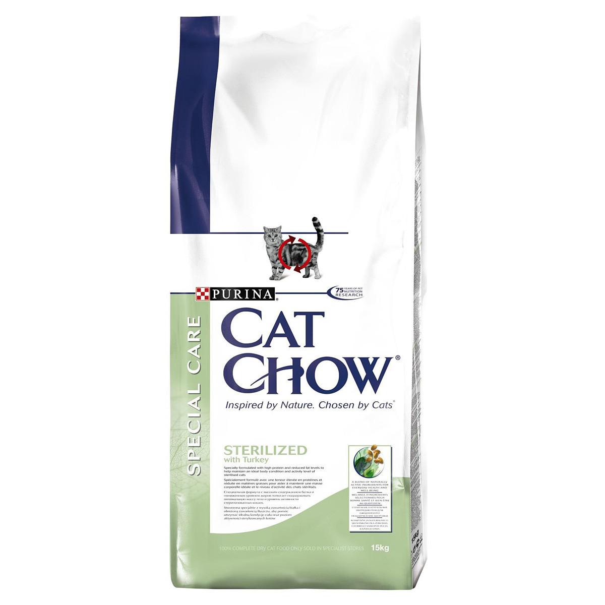 Sterilized cat для стерилизованных котов и кошек