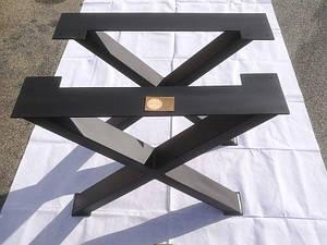 """Опоры для стола """"Х Black 2"""" в ресторан черный цвет"""