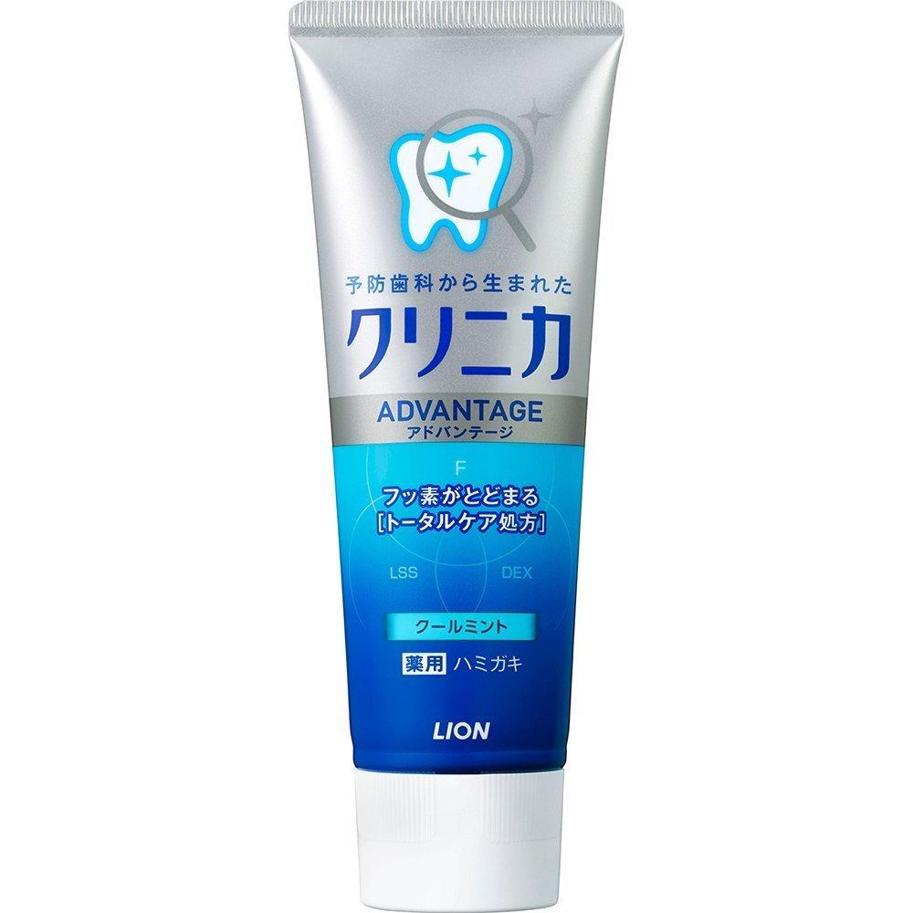 Зубная паста отбеливающая Lion Clinica Advantage Cool Mint с охлаждающим вкусом мяты 130 г (241430)