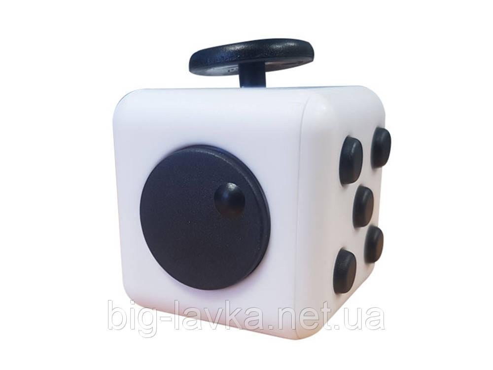 Кубик антистресс  Белый с черным