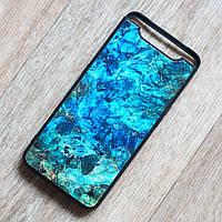 TPU чехол Malachite для Samsung Galaxy A80 (SM-A805) (сине-зеленый)