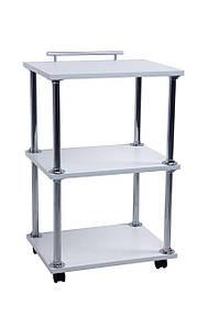Косметологическая Этажерка-Тележка-Стол на колесиках Уна-2 Мини