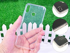 Ультратонкий 1мм силиконовый чехол для Huawei P Smart 2019