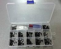 Гвинтів болти для складання корпусу ноутбука (набір 12 видів з 30шт, 360шт)