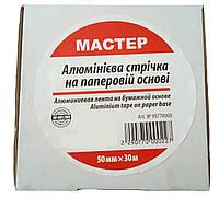 Лента с металлическим вкладышем Мастер 50 ммх30м, фото 1