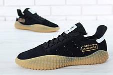 Мужские кроссовки Adidas Kamanda x C.P. Company Black/Gum, фото 2