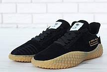 Мужские кроссовки Adidas Kamanda x C.P. Company Black/Gum, фото 3