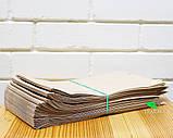 Крафт-пакет паперовий 140х350х40 мм, 100 шт, фото 2