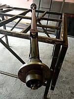 Балка 155 см для прицепа, крепление под рессору, ступицы 2101