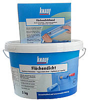 Набор гидроизоляционный Flachendicht Knauf 5 кг+Flachendichtband 10м