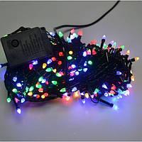 Новогодняя гирлянда 200 ЛЕД конус мультиколор