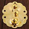 Замок скриньки для нард золото