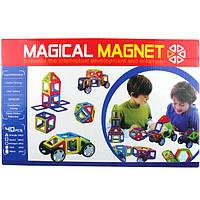 Детский магнитный развивающий конструктор Magical Magnet 40 деталей